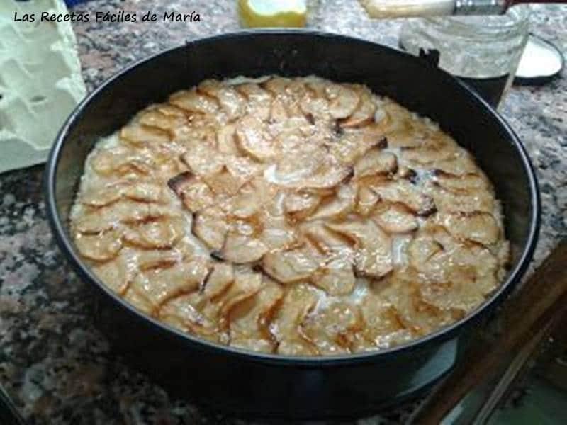 Tarta de Manzana tradicional Las Recetas Fáciles de María