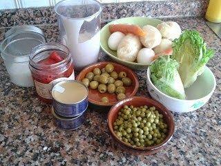 Ingredientes Ensaladilla rusa casera