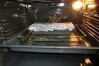 pastel de salmón con pimienta y eneldo paso 3