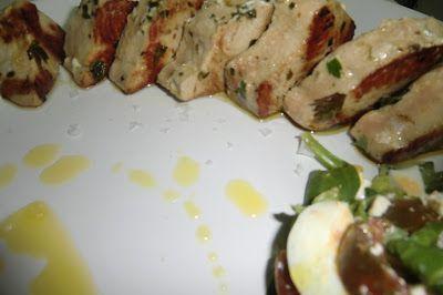 Lomo de atún marinado a la plancha