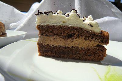 Tarta de Chocolate y Café con trufa al Ron