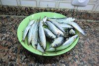 sardinas asadas con crema de piquillos paso 1