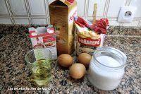 magdalenas de maíz ingredientes
