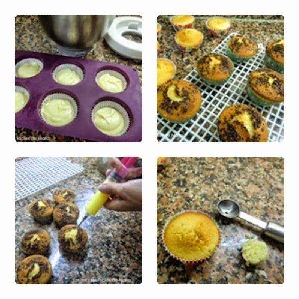 rellenar magdalenas con crema de naranja (orange curd)