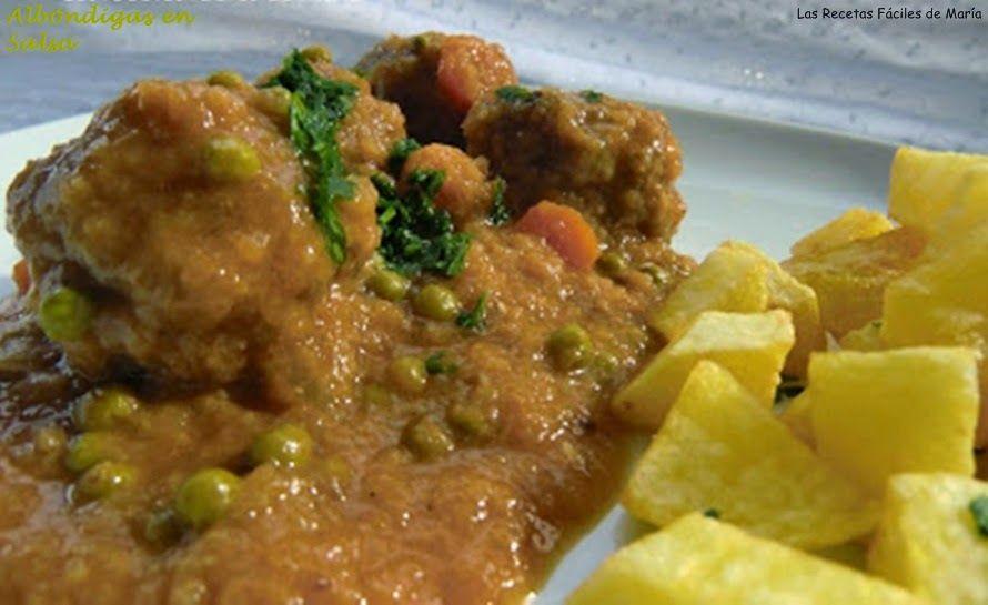Albóndigas en Salsa o el recuerdo del cariño receta tradicional