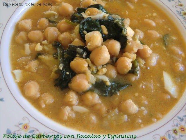 Potaje-Garbanzos-con-Bacalao-y-Espinacas