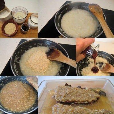 Cómo hacer Costillar asado con Costra de miel y almendras paso 2