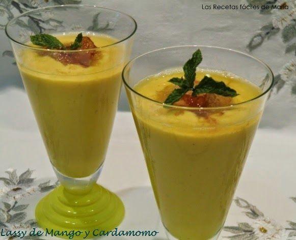 Lassi de Mango y Cardamomo, Bebida India