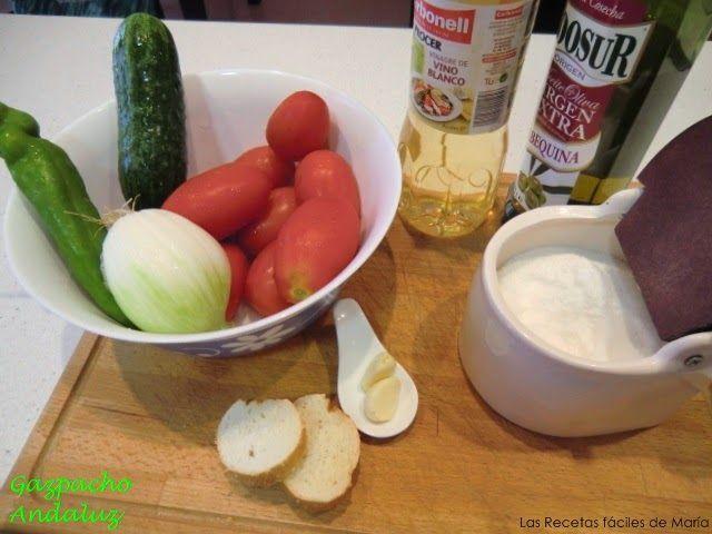 gazpacho andaluz casero ingredientes receta