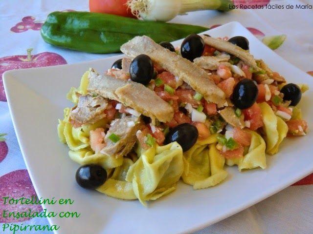 Tortellini en Ensalada con Pipirrina receta