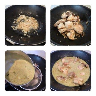 Como hacer Pollo al Curry con Coco y Jengibre