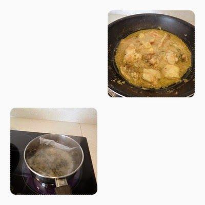pollo al curry con coco y jengibre paso 3