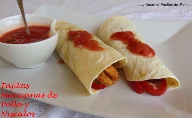 Fajitas Mexicanas de Pollo y Níscalos