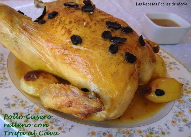 Pollo Casero relleno con Trufa al Cava