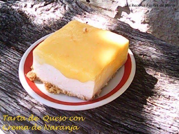 Tarta de Queso (Cheesecake) con Crema de Naranja para Llevar