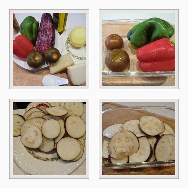 Musaka Vegetariana Griega paso 2 Las Recetas Fáciles de María
