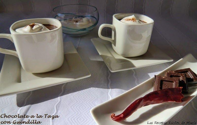 receta Chocolate a la Taza con Guindilla