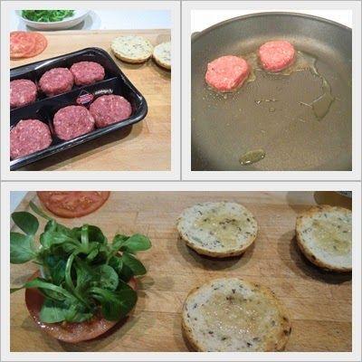 cómo cocinar mini hamburguesa de wanyu o cobe