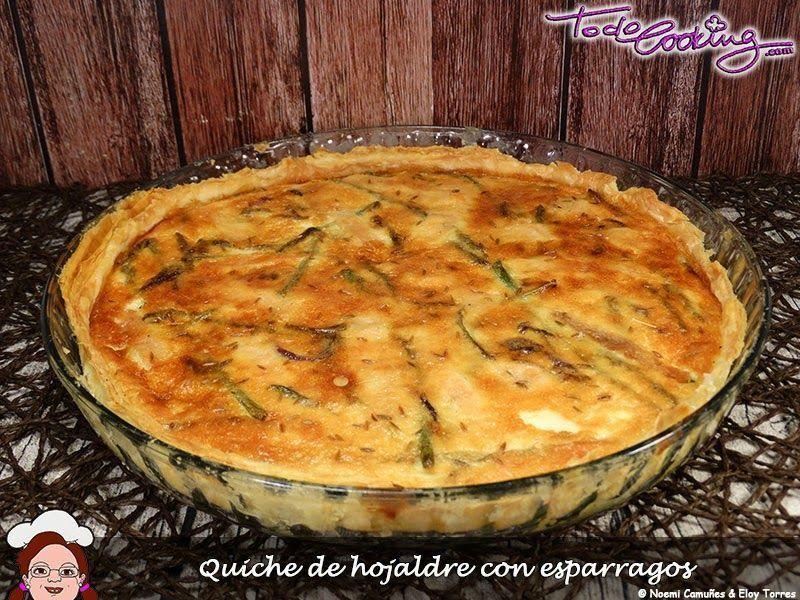 Quiche recetas 2º Aniversario Las recetas Fáciles de María