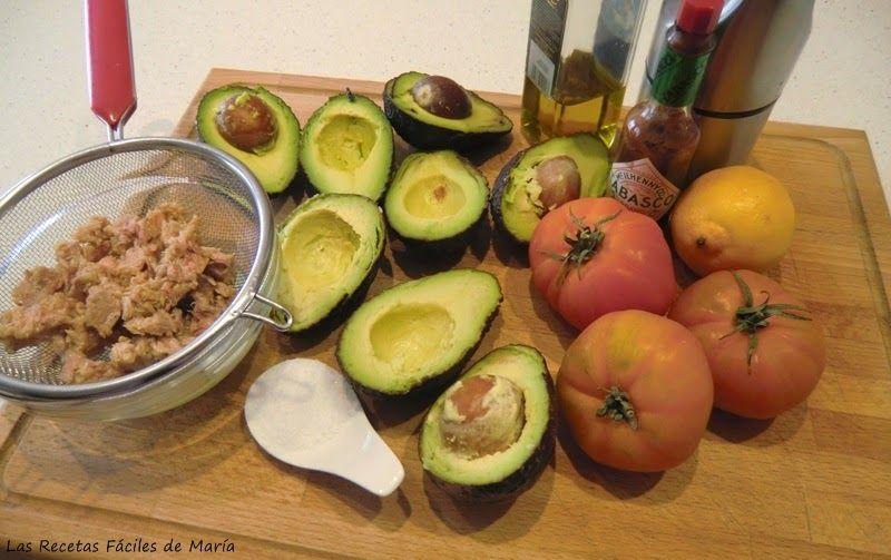 Ensalada Fácil de Aguacate con Atún en Vasitos
