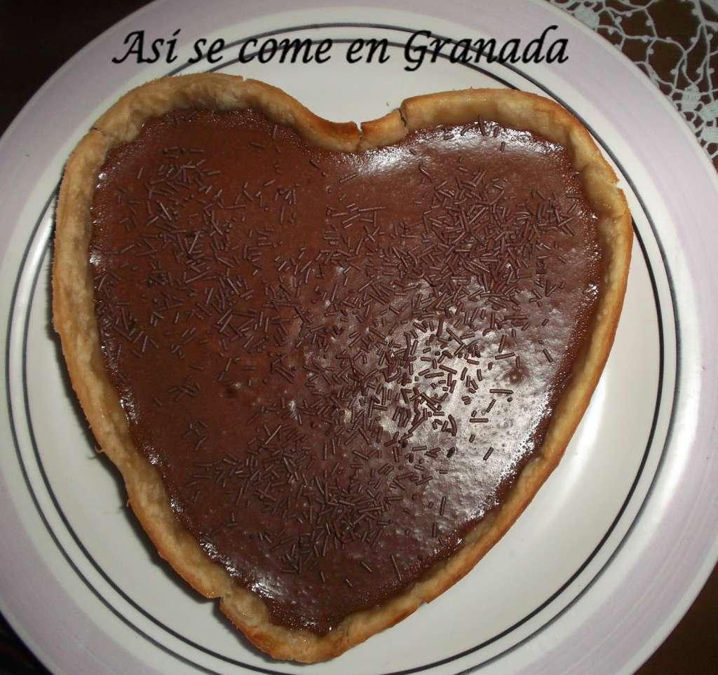 Tarta Corazón de Chocolate