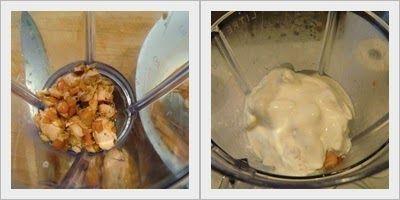 pasos a realizar Pastel frío de salmón