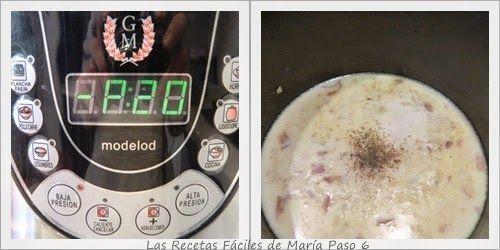 Receta de Sopa de Almejas, Clam Chowder en Olla GM paso 6