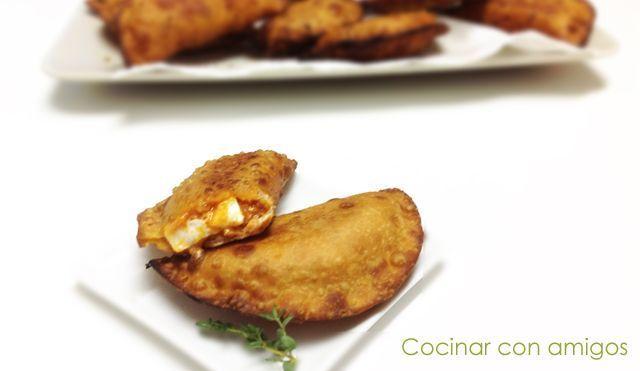 Empanadillas de Atún y huevos en Recetas Fáciles y Sencillas con Caballa y Atún
