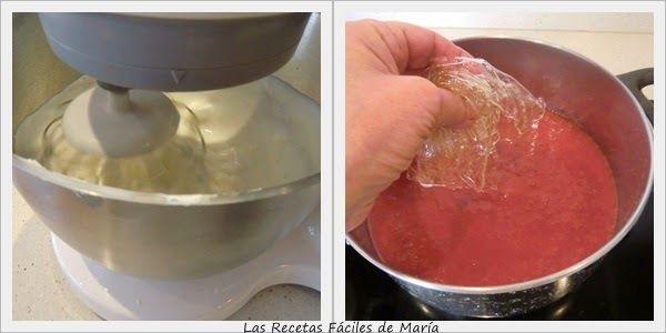 Receta de Tarta Mousse de Fresas con Mascarpone
