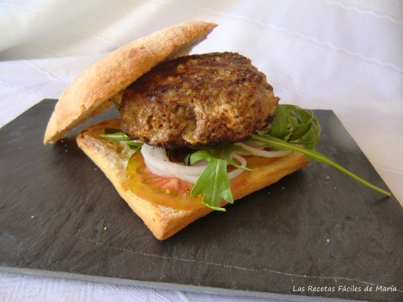 Hamburguesa con Quesitos Casera