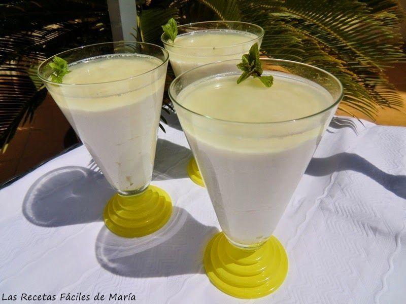lista la Mousse de Lima con Requesón sin gluten