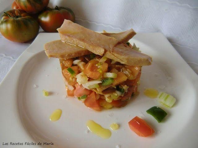tomate raf natural en tartar como se hace