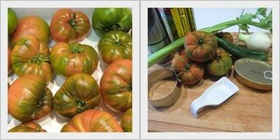 Tomate Raf natural en Tartar ingredientes