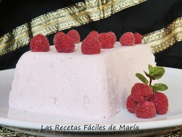 receta pastel fresas y frambuesas