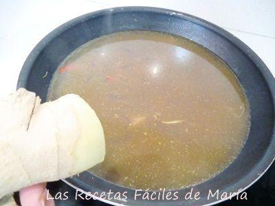 Cómo se hace 2 Sopa Asiática de Noodles y Mejillones