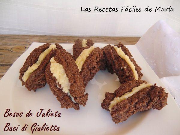 Besos de Julieta o Baci di Giulietta receta sin Gluten
