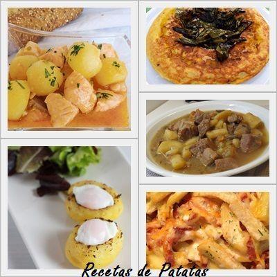 recetas con patatas para todos los gustos recopilación